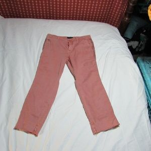 JCrew Chino blush jeans